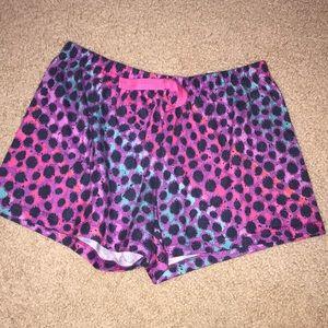 Pajama shorts for girls